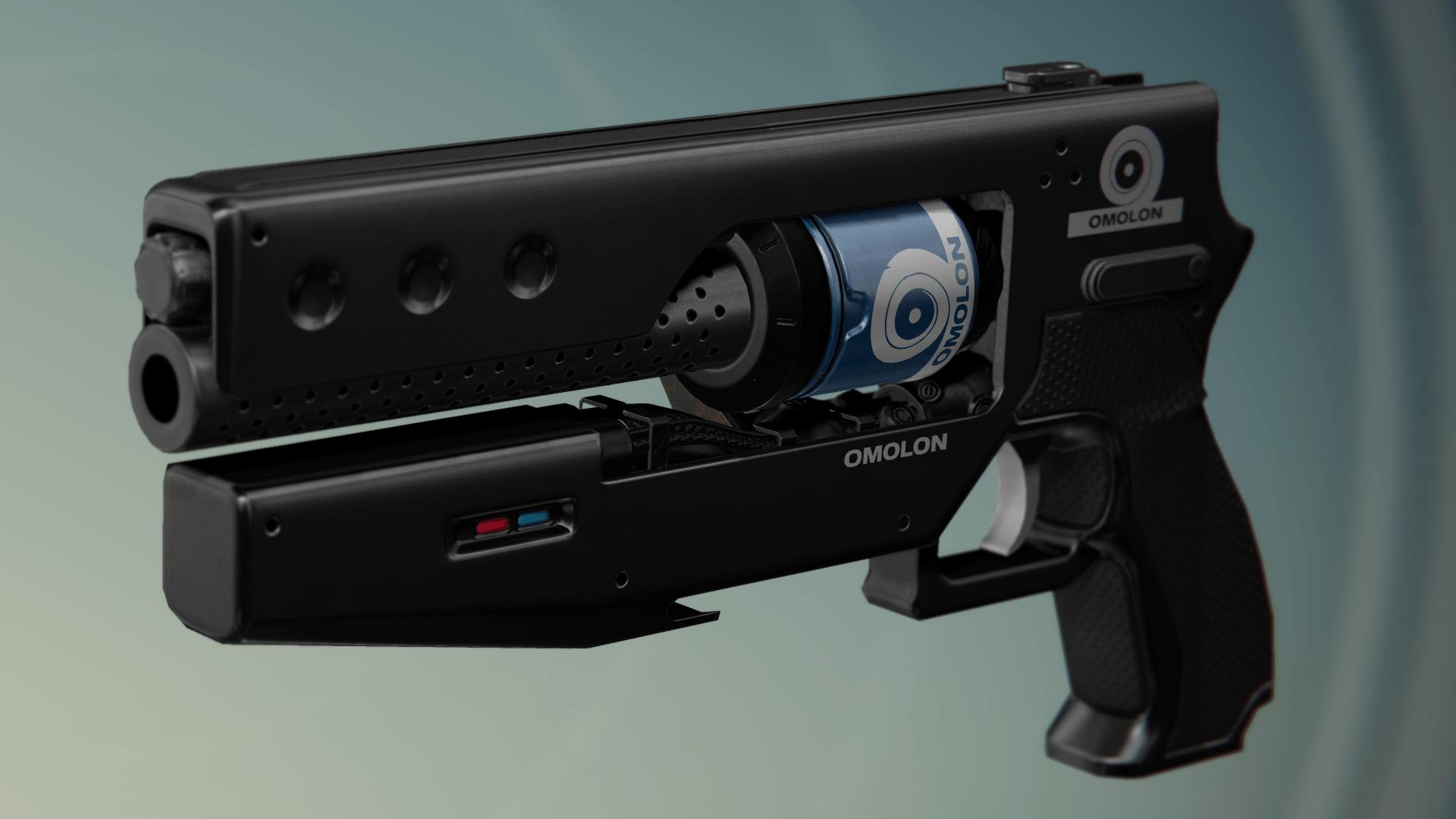 Es wird auch drei Foundries geben die euch Waffen bringen. Hier Omolon.