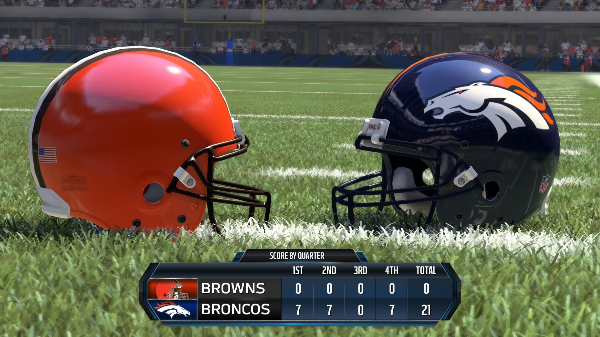 Alle Mannschaften aus der NFL sind spielbar.