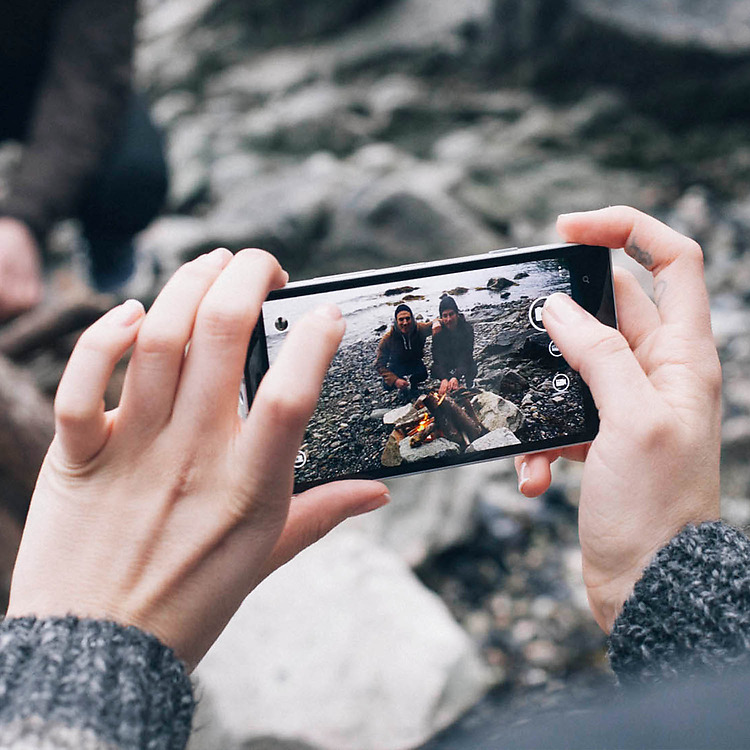 Tolle HD-Videos und Fotos können ebenfalls geschossen werden.