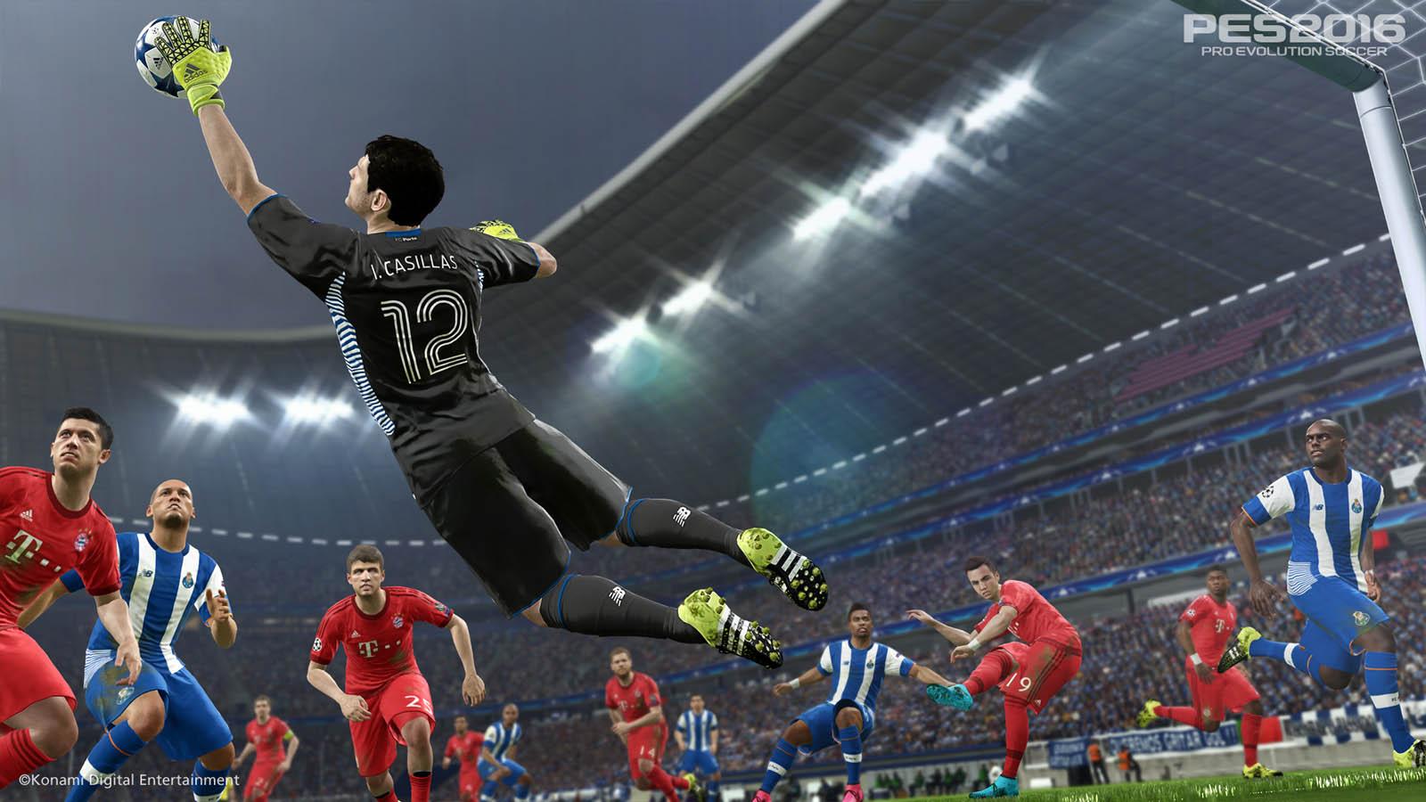 Die Spieler sehen den Vorbildern zum Verwechseln ähnlich.