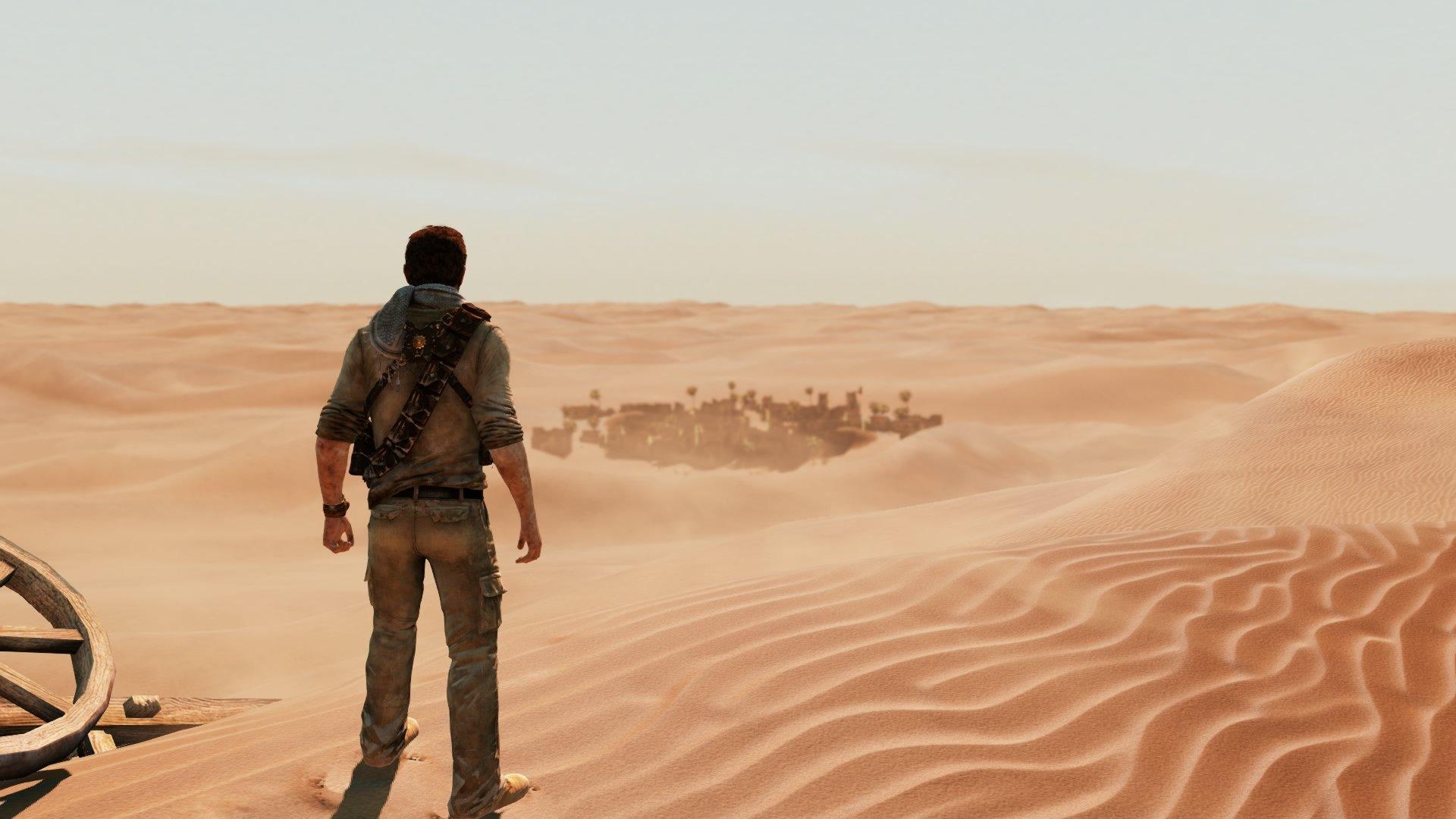 Da hat man Drake doch glatt in die Wüste geschickt.