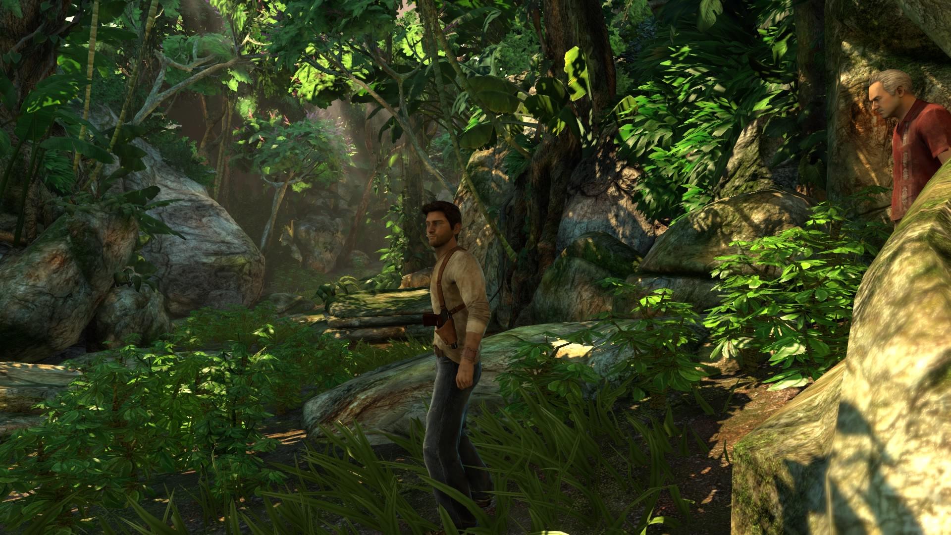 Gerade in Gebieten mit viel Vegetation wird deutlich, wie gut die Spiele aussehen.