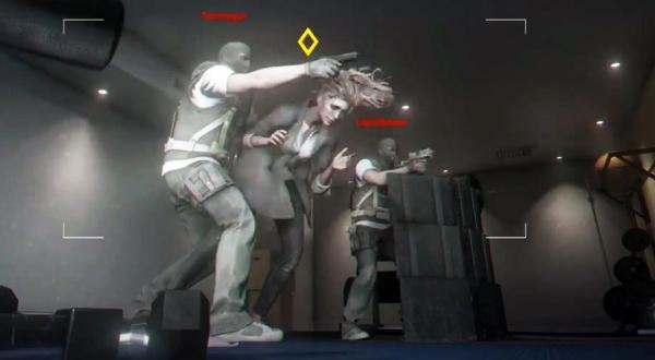 Vor jeder Runde können die Angreifer mit Hilfe einer ferngesteuerten Drohne sehen, wo sich die Gegner befinden.