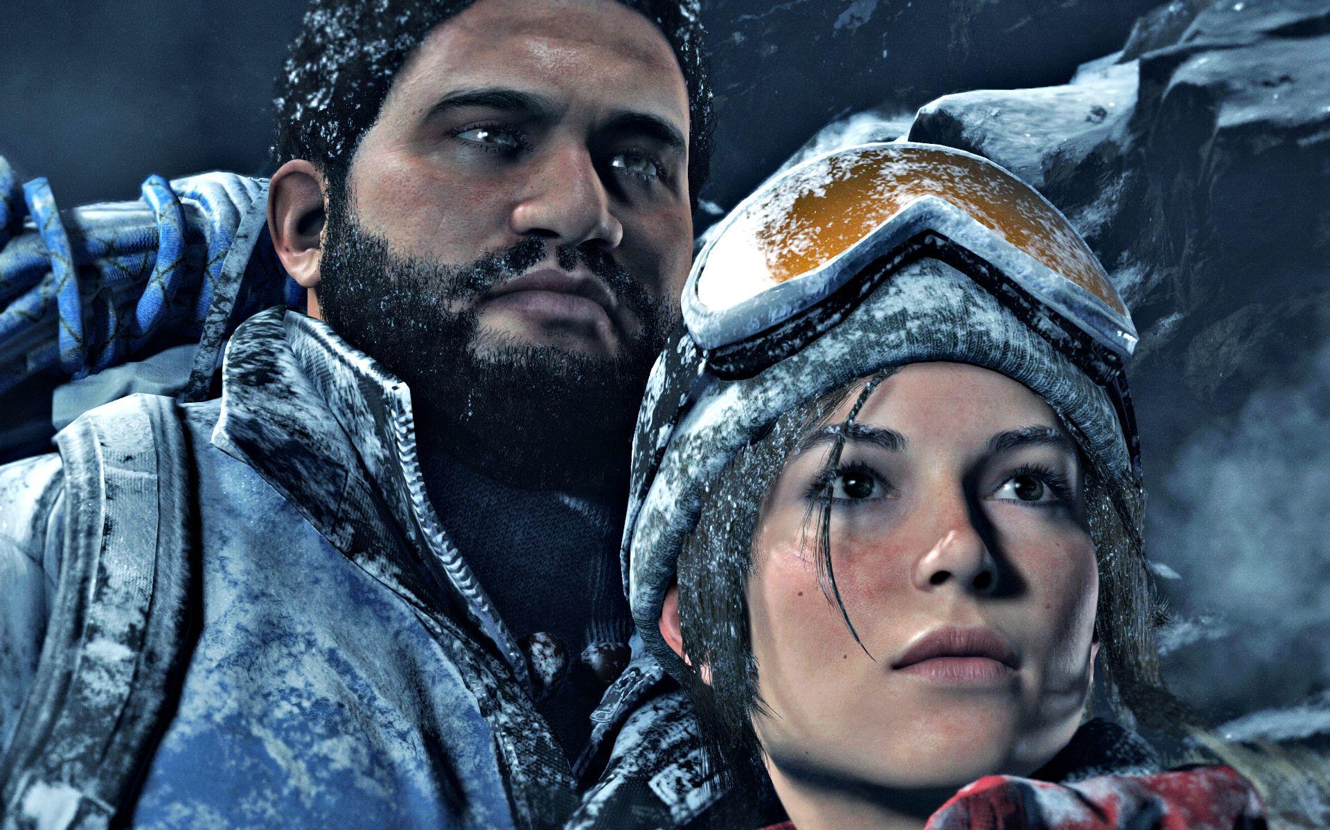 Lara sieht einfach unglaublich aus... nicht nur von den Texturen her.