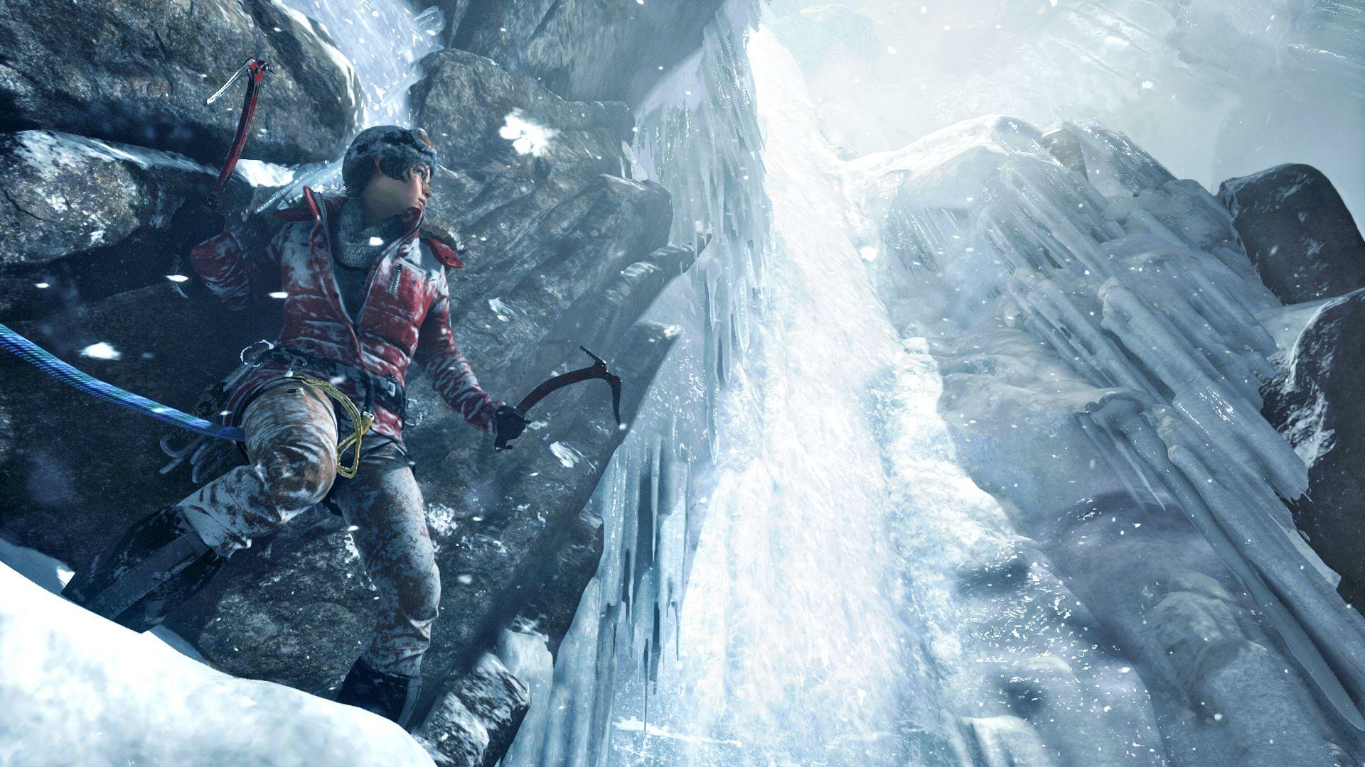 Bereits am Anfang gibt es eine große Gefahr für Lara.