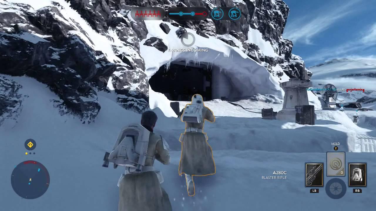 Die Landschaften sind allesamt extrem authentisch gestaltet und bringen das Star Wars Feeling auf die PlayStation 4.