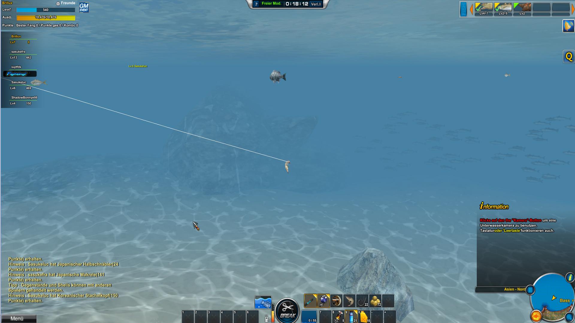 nat games world of fishing 2
