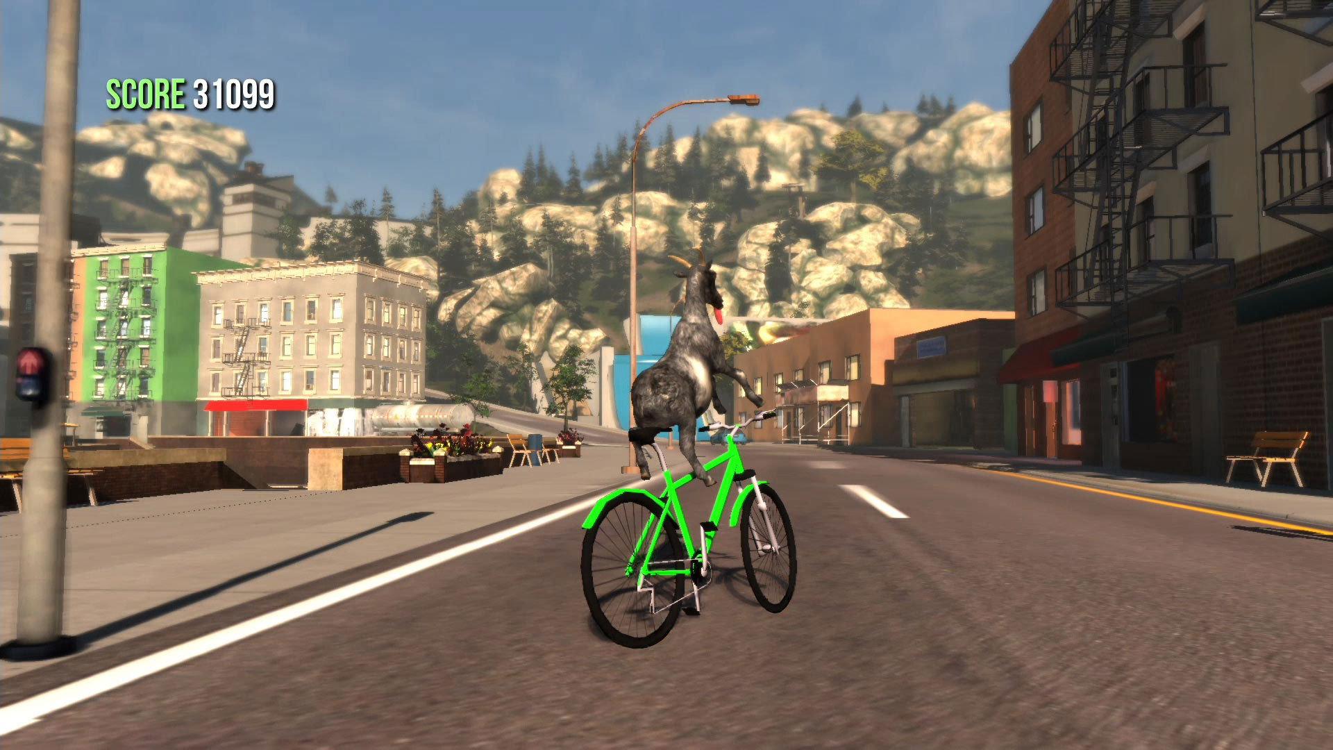 Eines unserer Ziele ist es, mit einem Fahrrad durch die City zu cruisen.