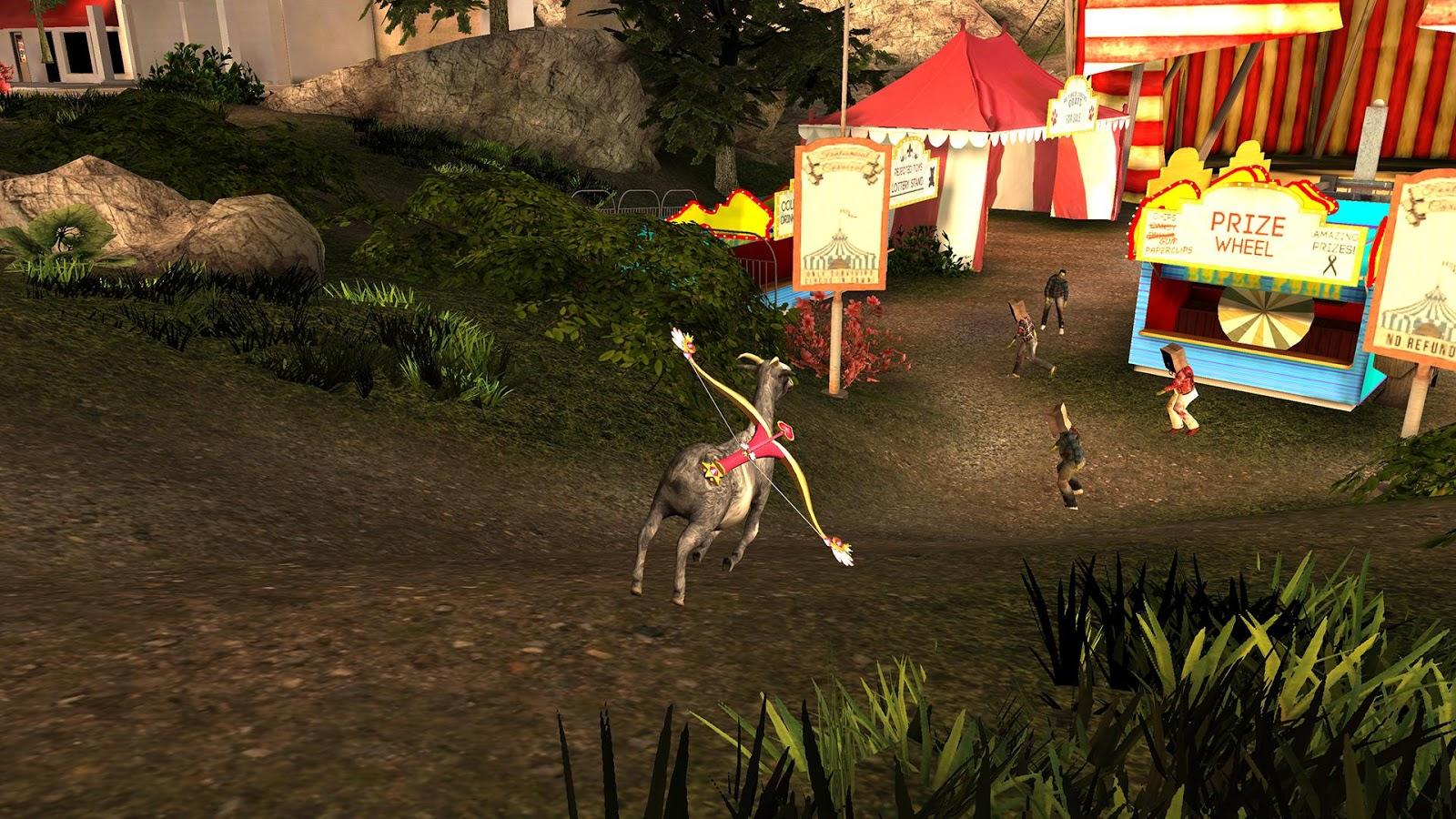Achtung Zombie-Ziegen sind unterwegs!!!