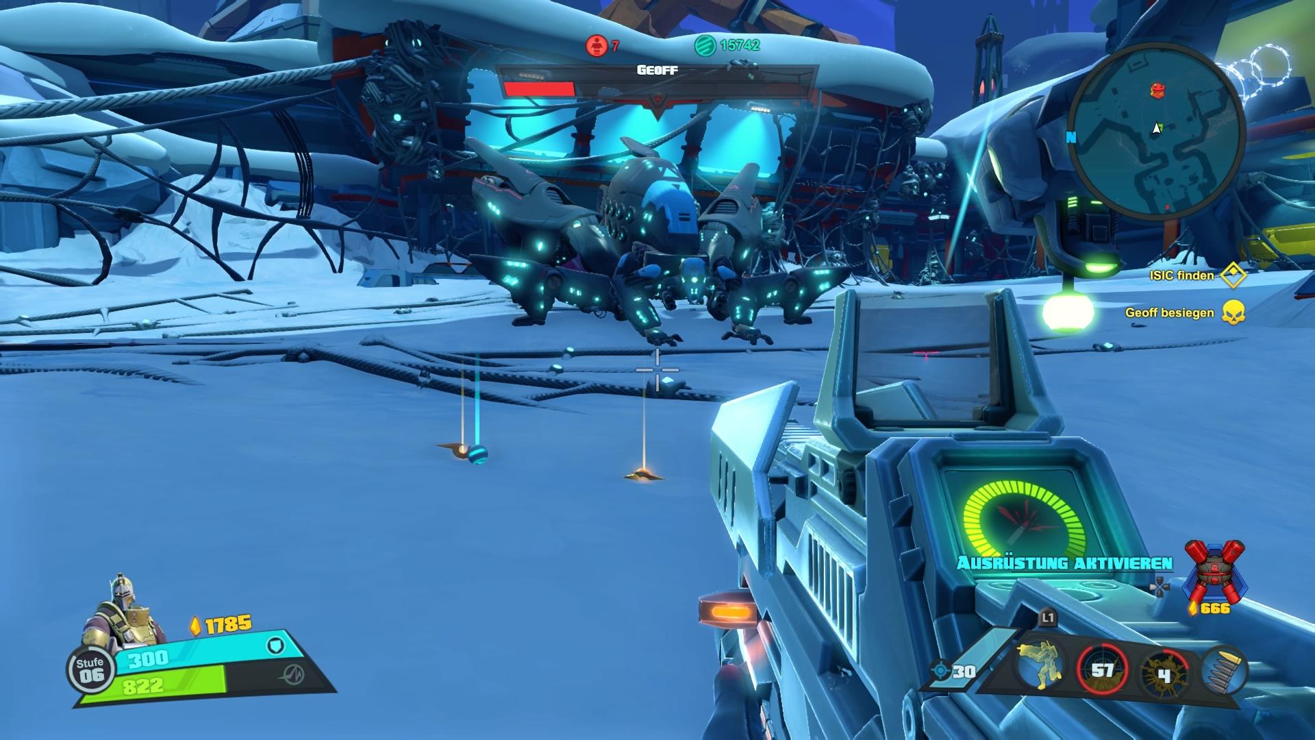 Optisch steht das Spiel Borderlands im Nichts nachh.