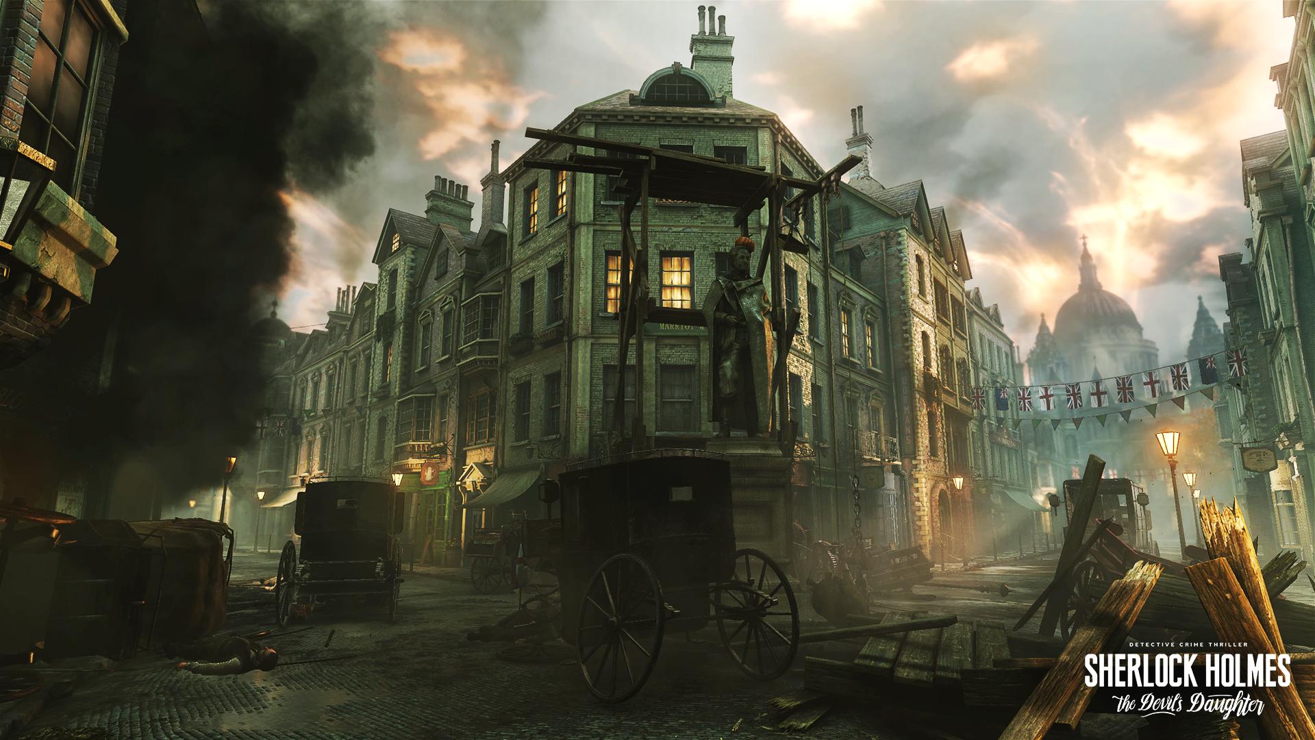 London in Flammen, zu viel Action tut unserem Holmes nicht gut.