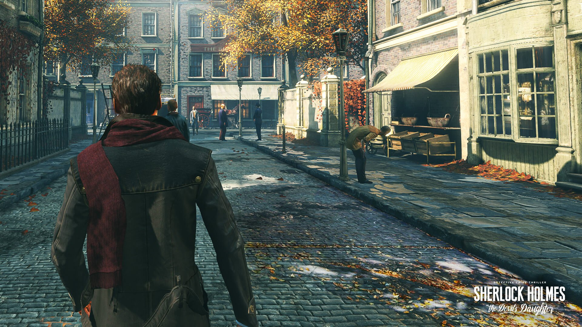 Die Stadt ist detailreich, bietet allerdings kaum bis keine Interaktionen.