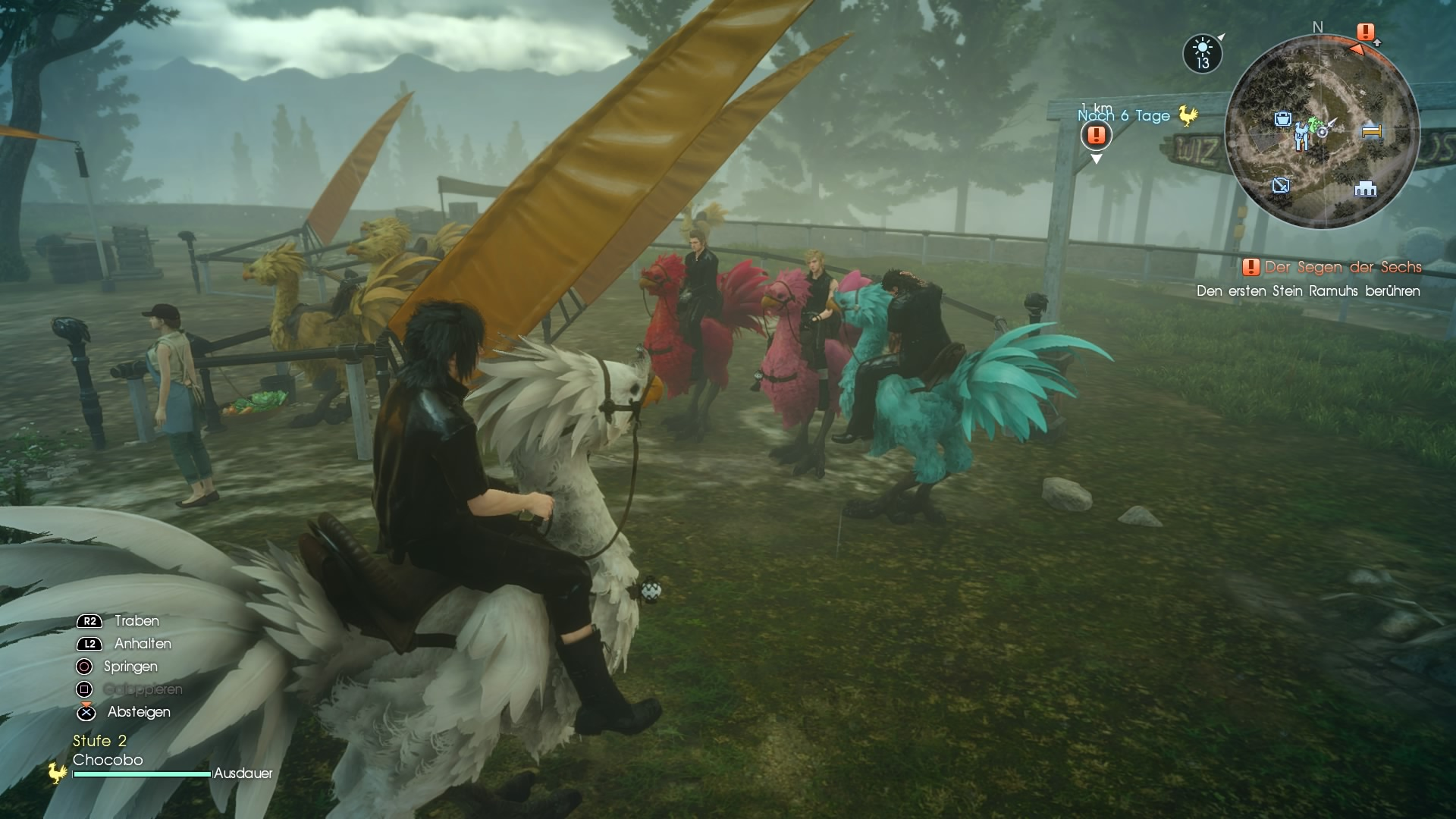 Ich und meine Gang machen die Wildnis unsicher!