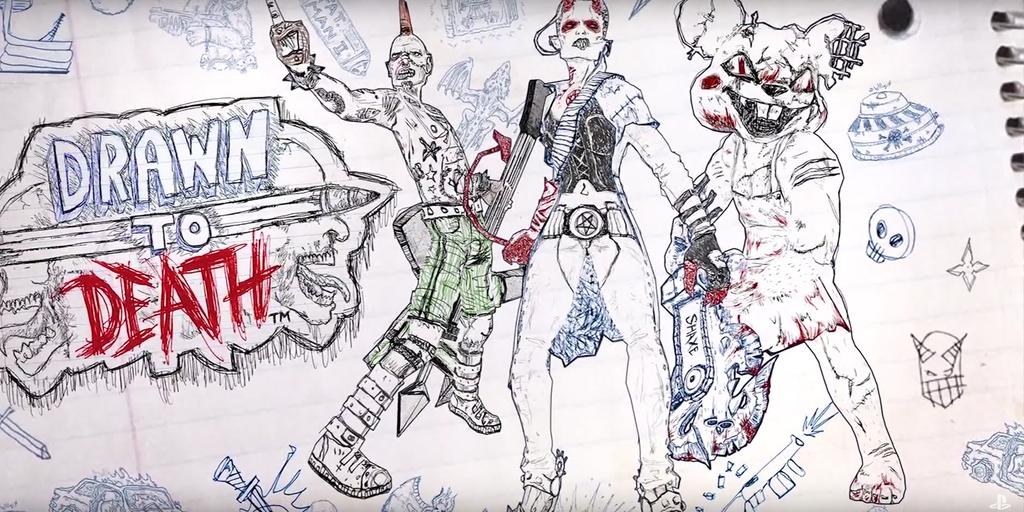 Drawn to Death David Jaffe