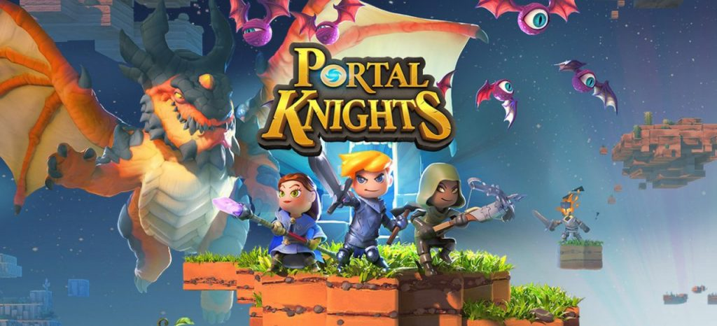 portal knights wallpaper logo nat-games