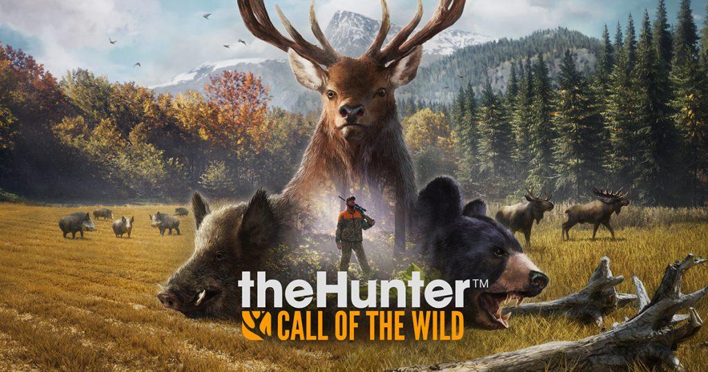 theHunter Call of the Wild-wallpaper-nat-games-logo-review