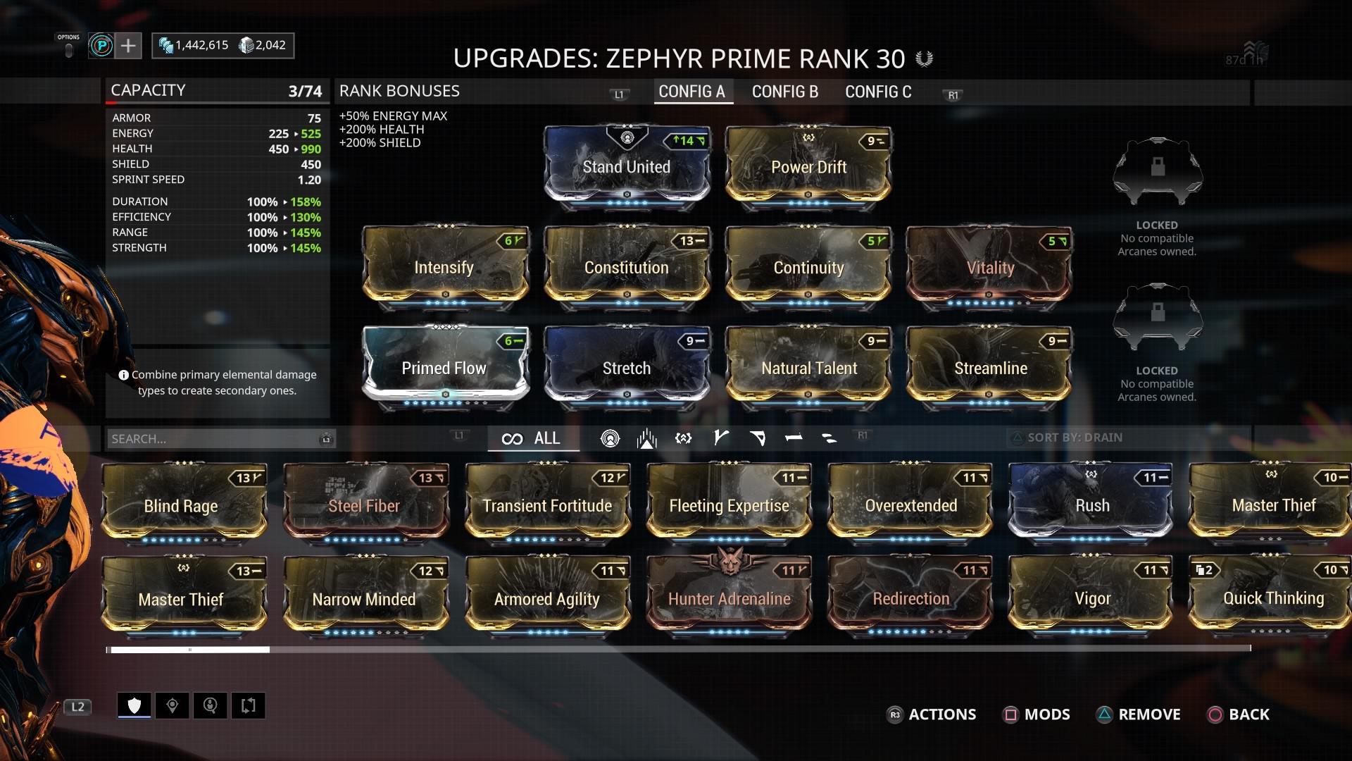 Warframe Zephyr Prime Access - Test zum neuen Frame und
