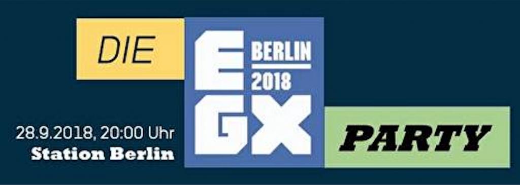 EGX 2018 Berlin