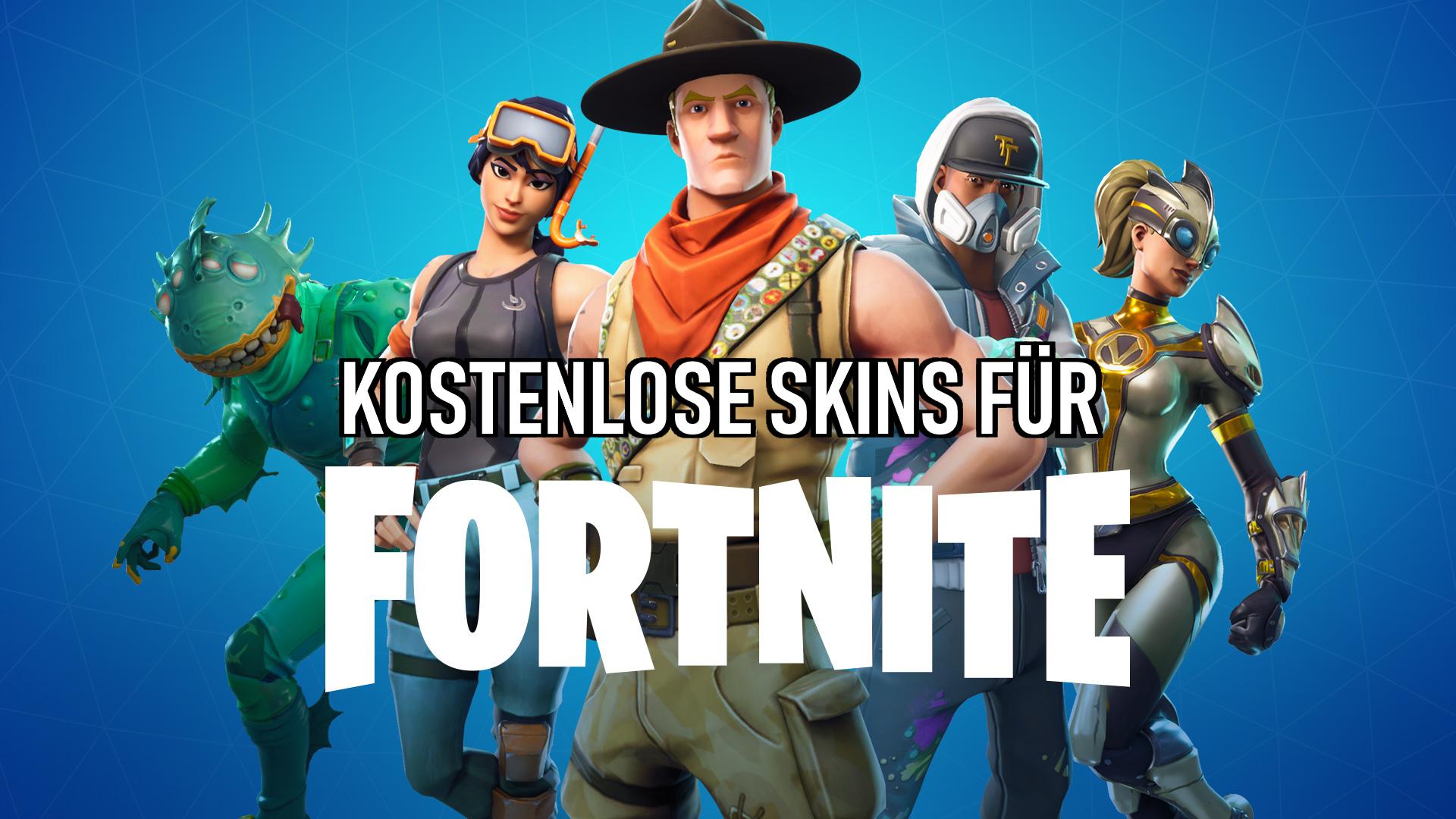 So Bekommst Du Kostenlose Skins Fur Fortnite Nat Games