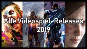 Videospiel Releases für 2019