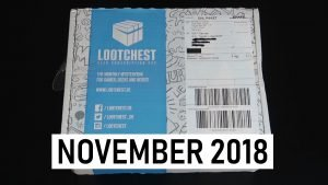 Lootchest Unboxing November 2018