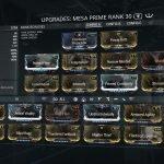Warframe Mesa Prime Access