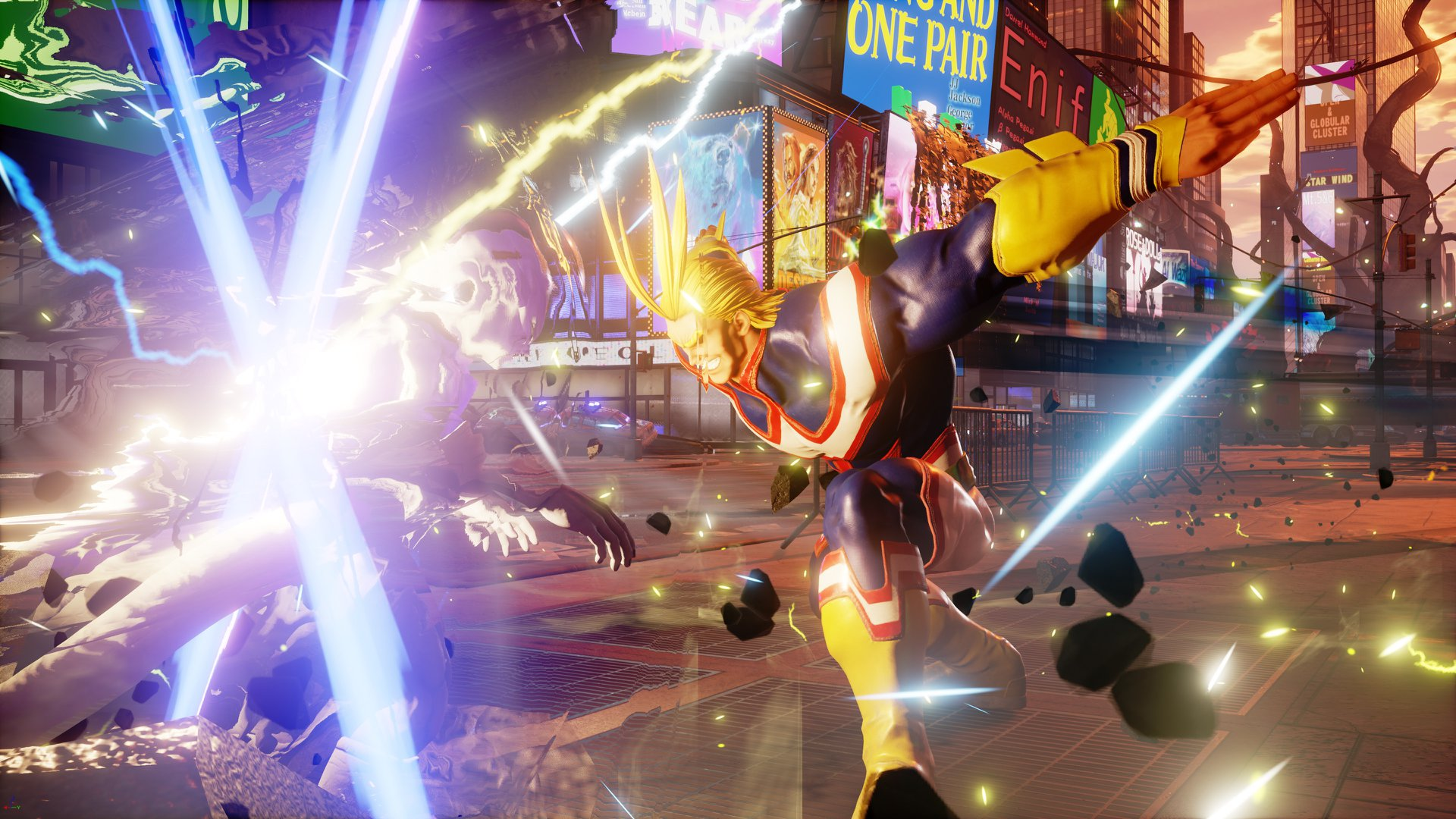 Jump Force All Might Smasht Mit Nat Games
