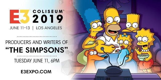 E3 2019 Simpsons