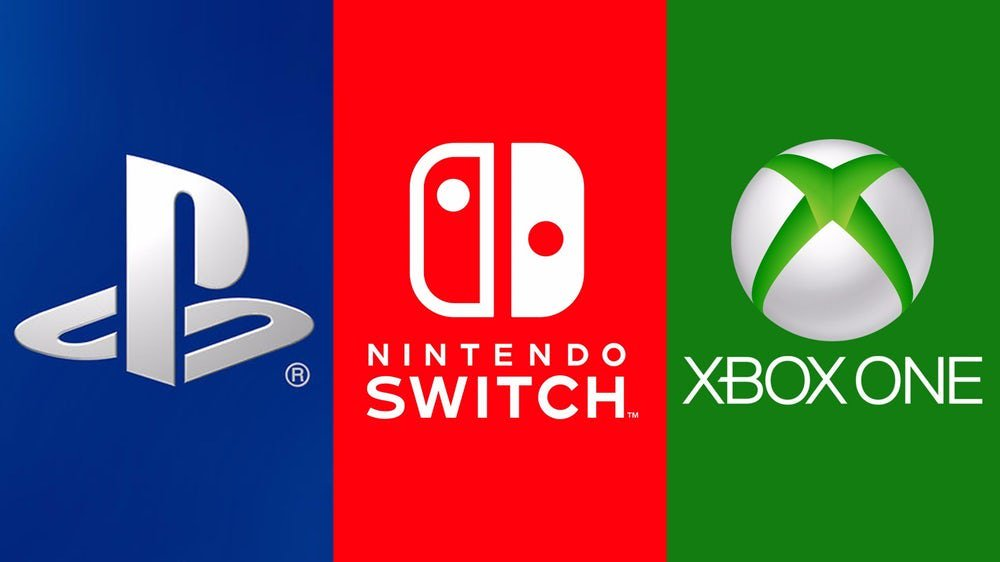 Playstation Xbox One Nintendo Switch Microsoft