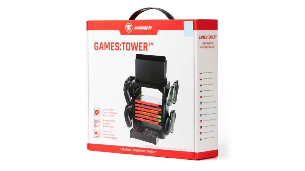 snakebyte Switch GAMES:TOWER