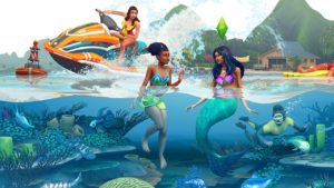 Die Sims 4 Inselleben