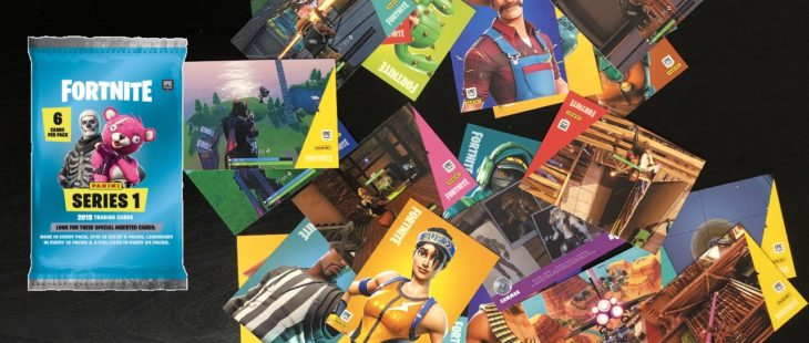 Panini Fortnite Trading Cards