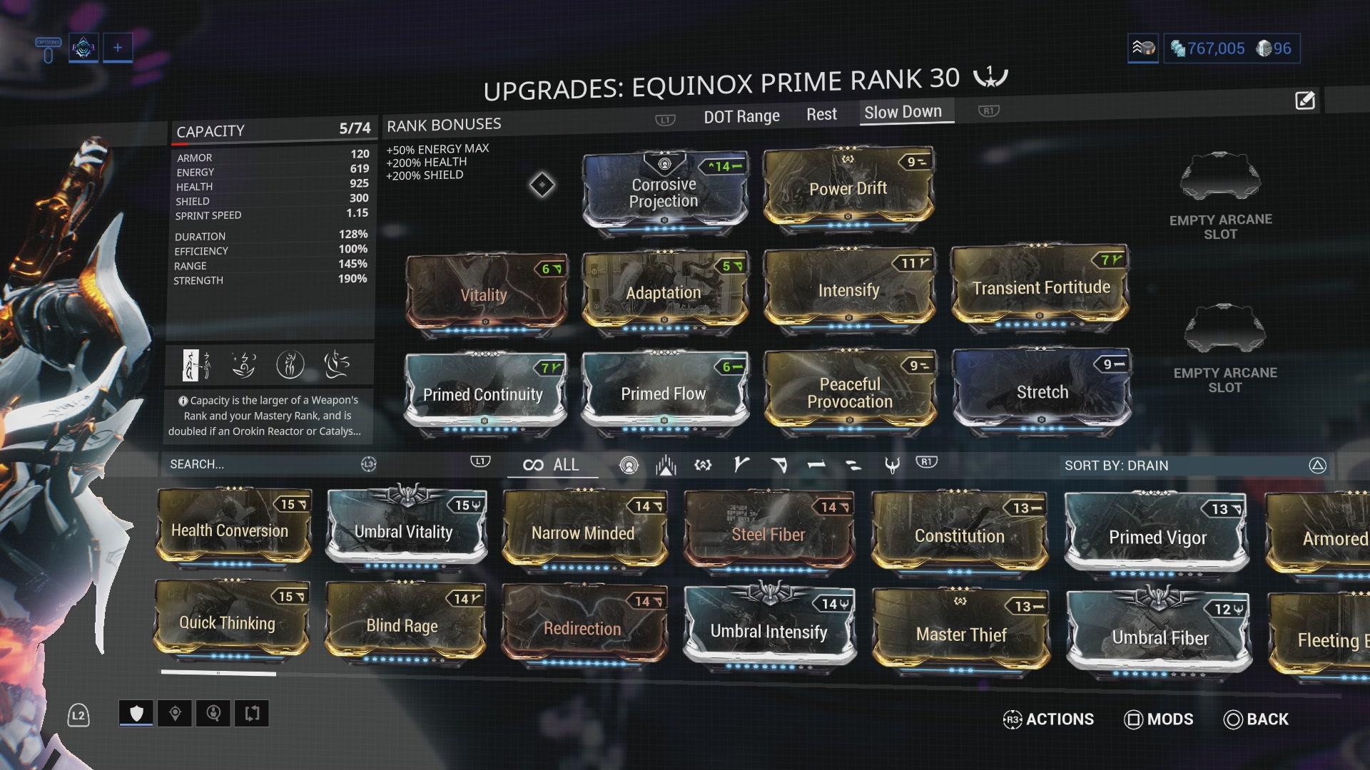 Warframe Equinox Prime Access - Test zum Dualitäts-Frame