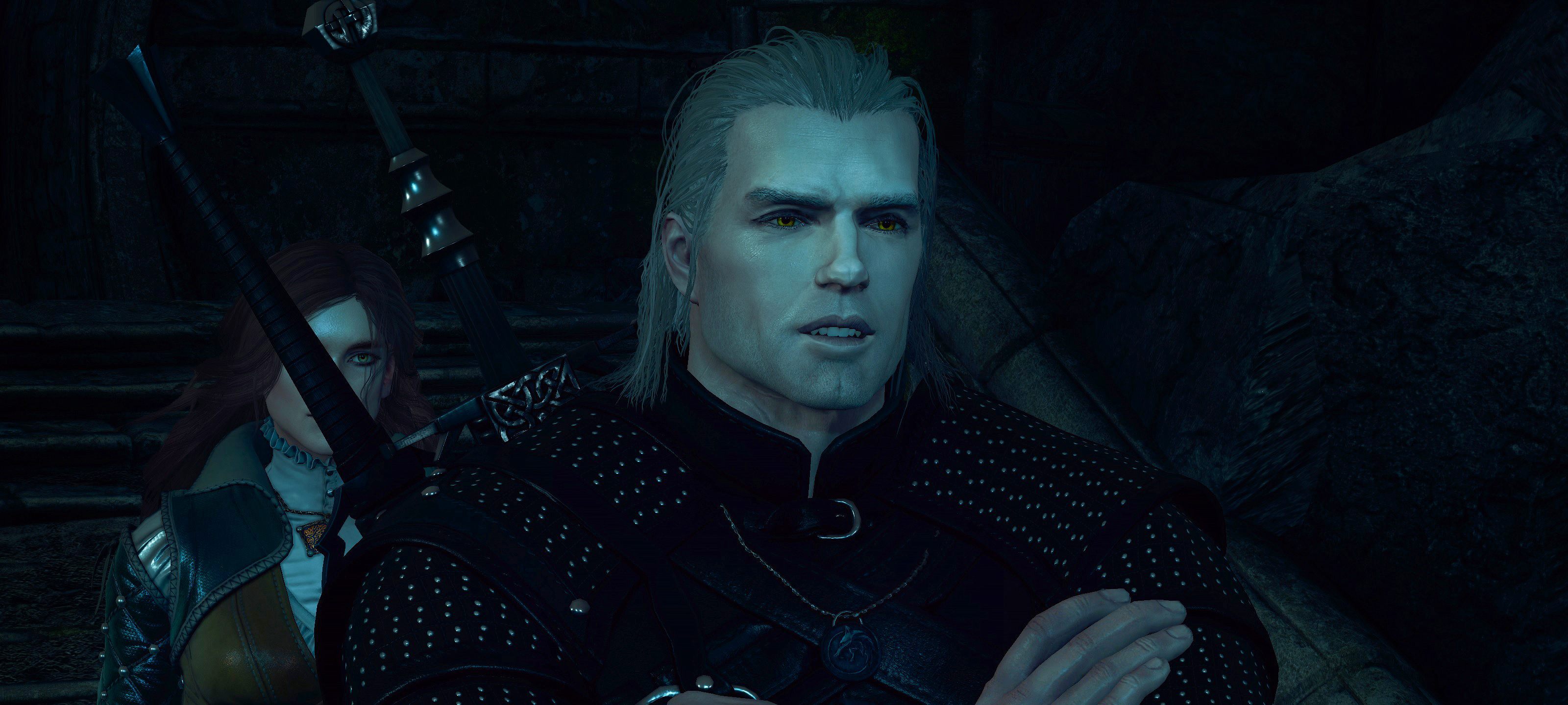 Henry Cavill in The Witcher 3