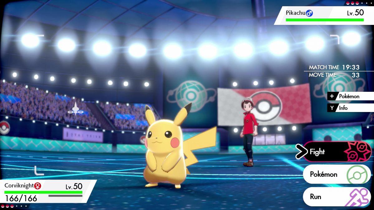 Pikachu im Kampf