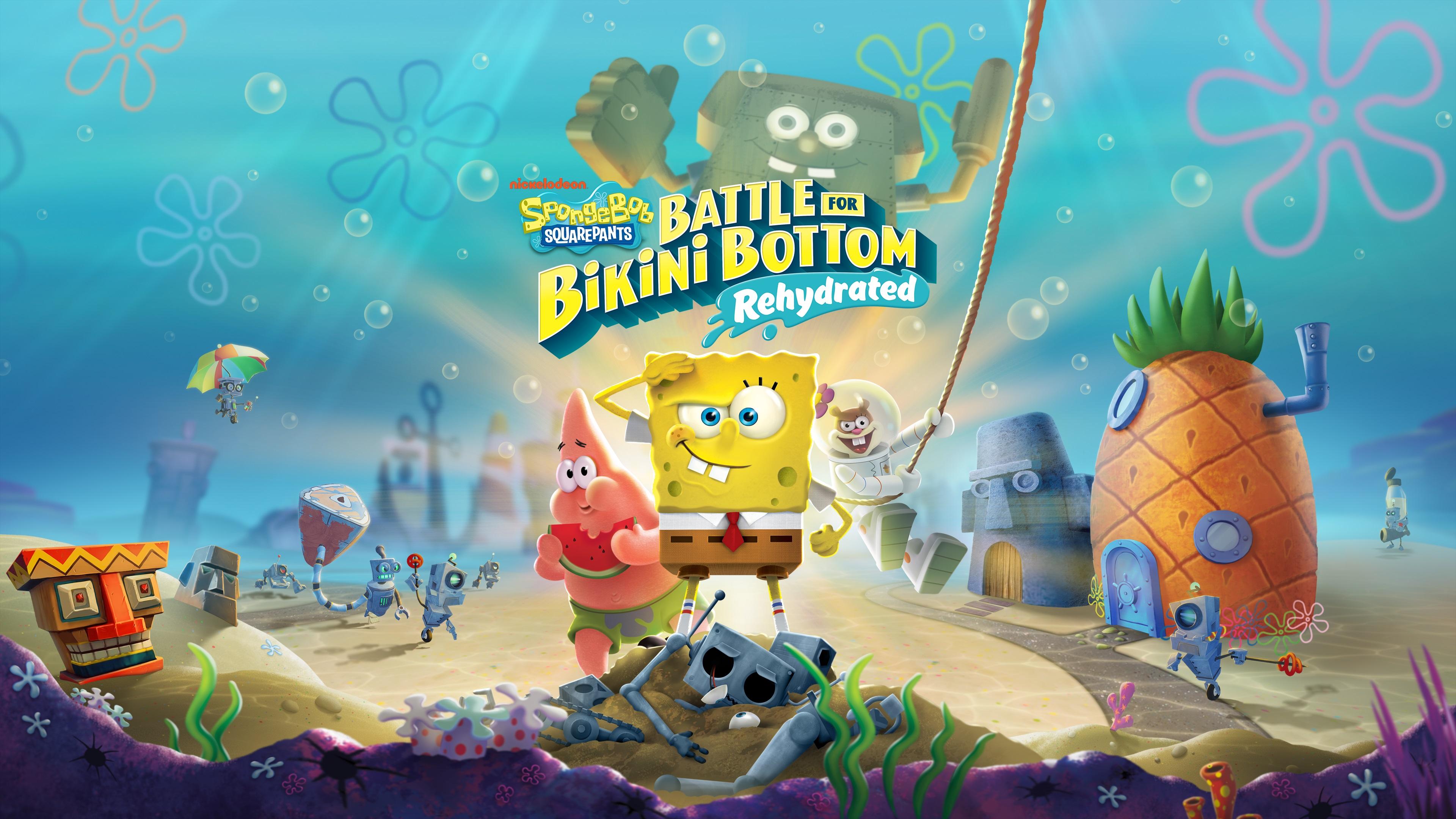 Spongebob Schwammkopf: Schlacht um Bikini Bottom Rehydrated