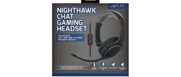 Venom Nighthawk Chat Gaming Headset