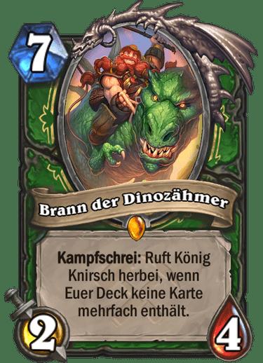 Hearthstone Brann Dinozähmer