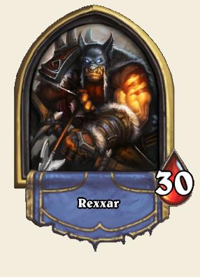 Hearthstone Rexxar