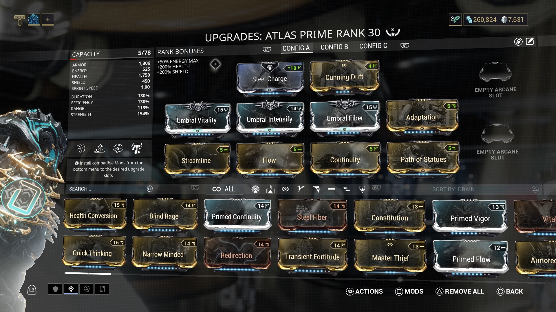 Warframe Atlas Prime Access