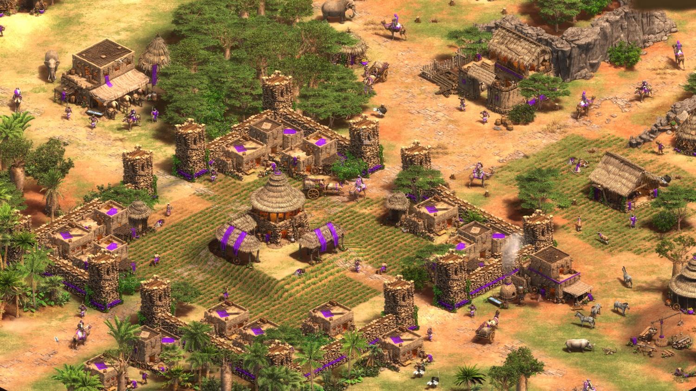 Age of Empires II, eine klassische Hauptstadt
