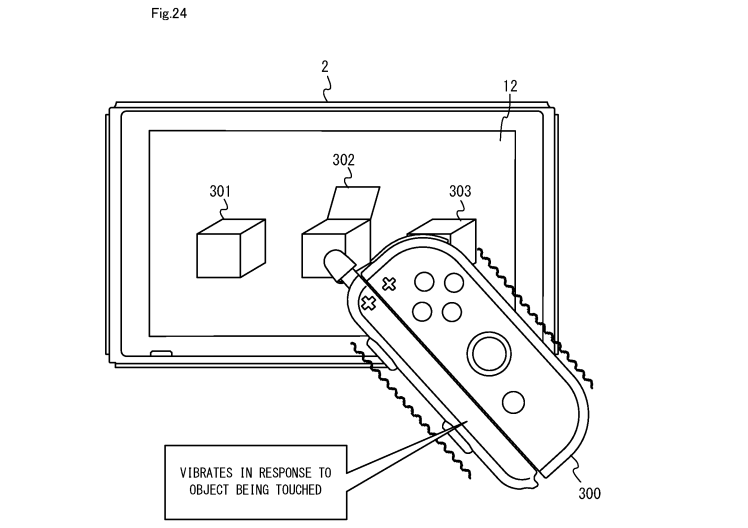 Nintendo Switch Touch Pen Patent