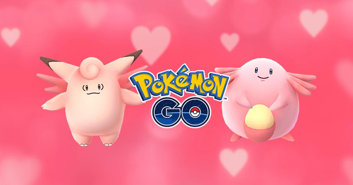 Valentinstag in Pokémon GO