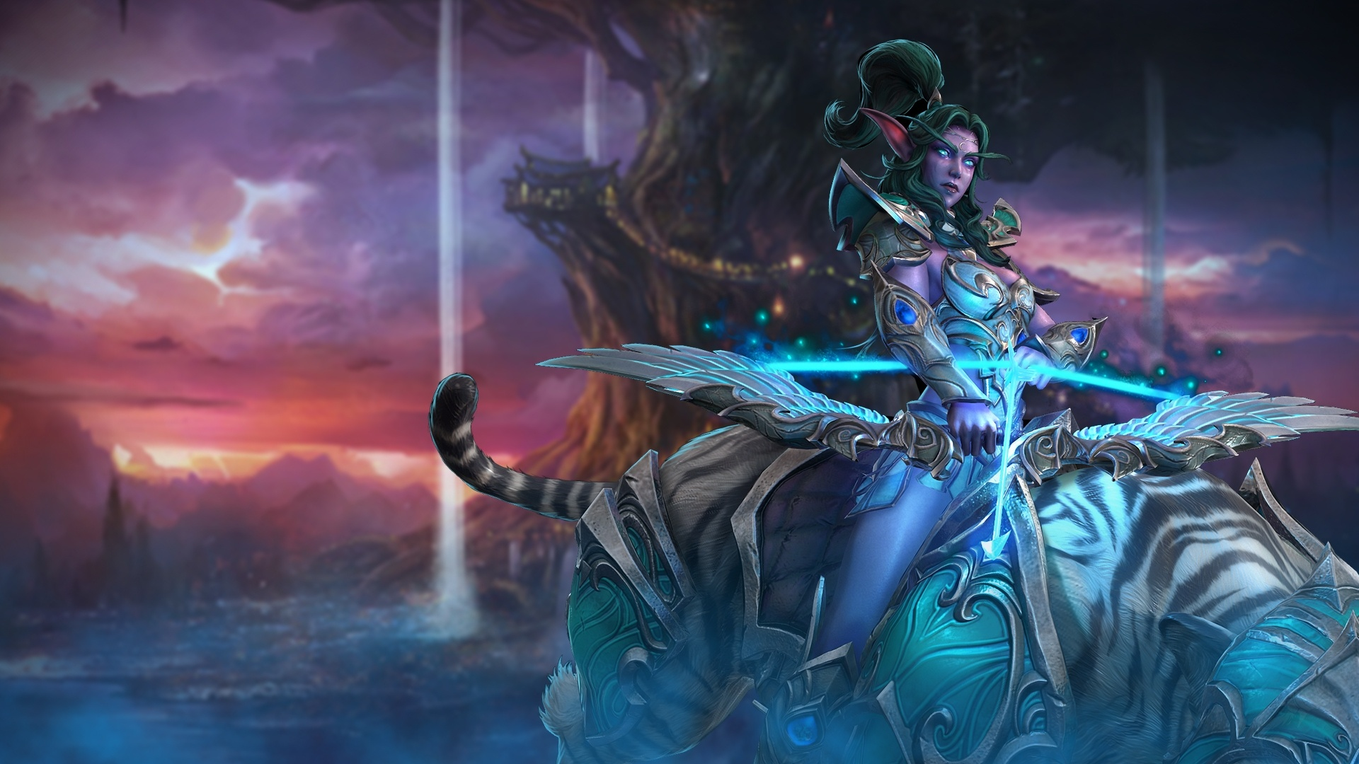 Kampagnen Hintergrund Elfen