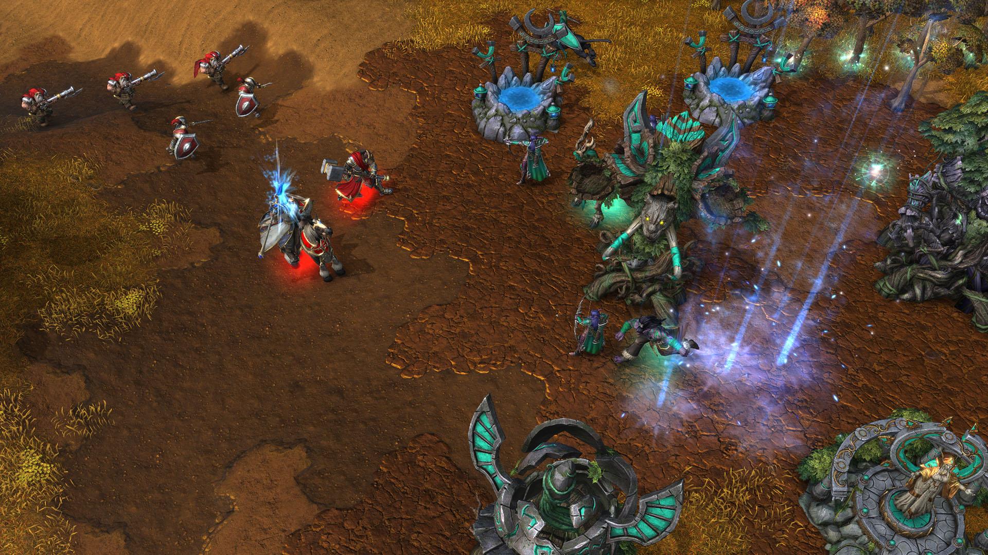 Kampfszene auf Warcraft 3