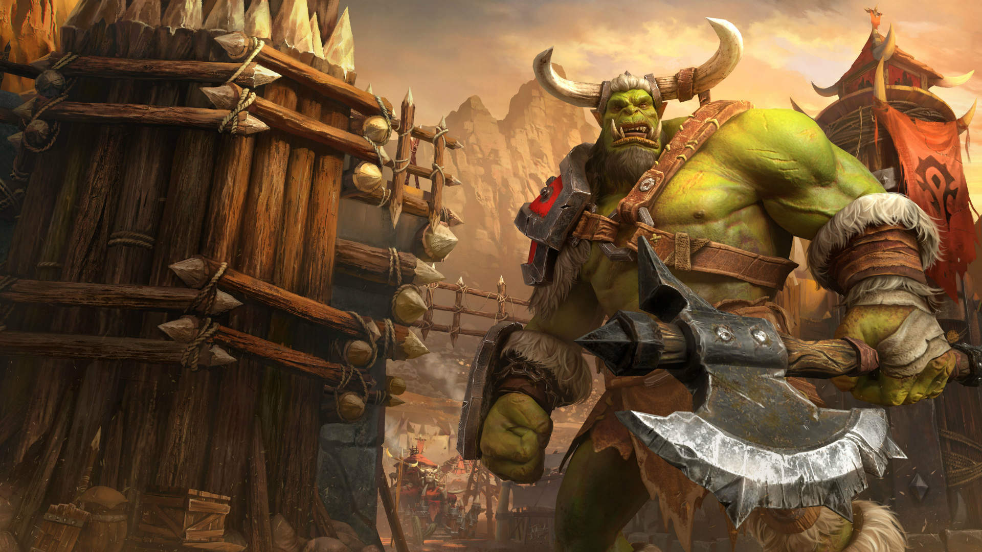 Kampagnen Hintergrund Orcs