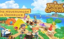 Animal Crossing New Horizons Neuerungen