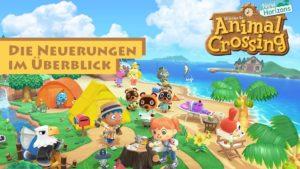 Animal Crossing New Horizons Neuerungen