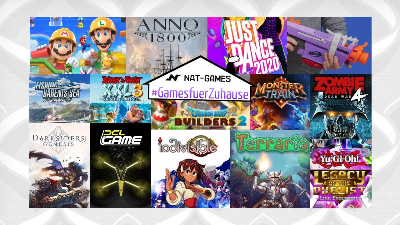 #GamesfuerZuhause