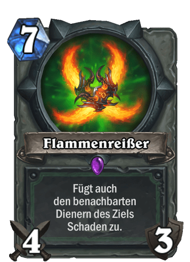 Flammenreißer